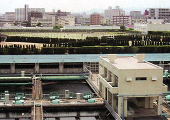 屋上広場 外観